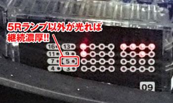 CRフィーバー宇宙戦艦ヤマト ONLY ONE ラウンドランプ