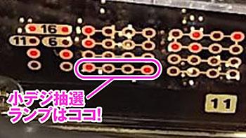CR機動戦士ガンダム-LAST SHOOTING- ランプパターン