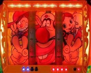 CRハクション大魔王 赤色リールフラッシュ