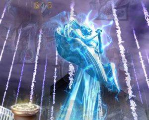 牙狼 闇を照らす者 女神像発光予告