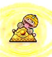 秘宝伝 秘められし時の鼓動 金ピラミッド保留