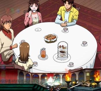 CR金田一少年の事件簿2 地獄の傀儡師 お茶の効能予告1
