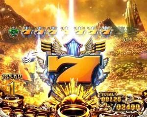 CRミリオンゴッドディセント GOD GAME BONUS2
